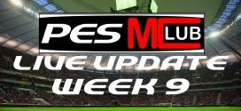 Live Update - Week 9