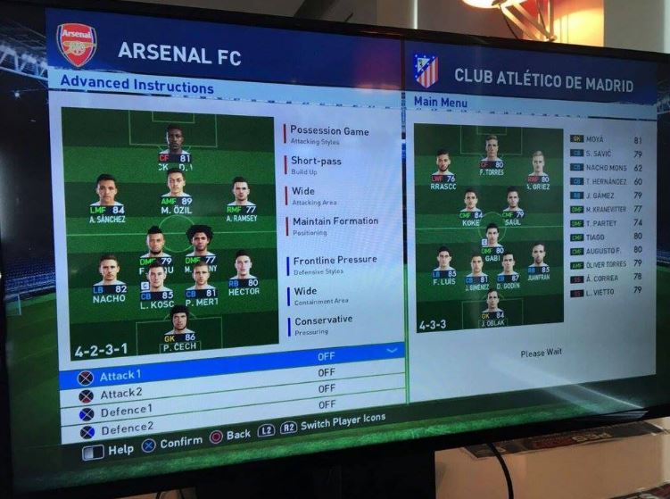 PES 2017 - Arsenal License