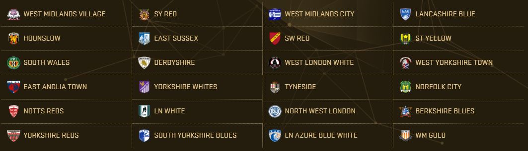 PES 2017 Teams - Championship