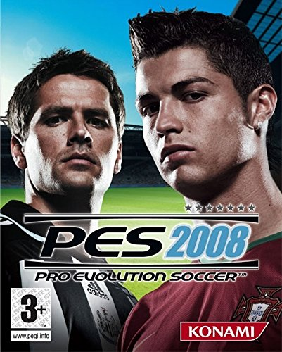 PES 2008 Cover
