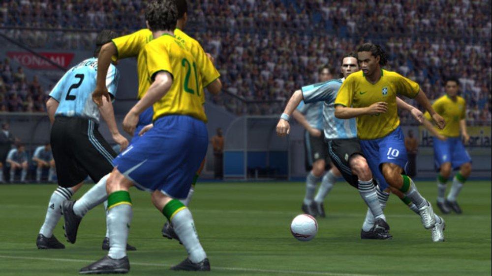 PES 2009 Screenshot Ronaldinho