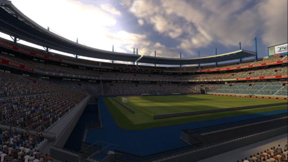 PES 2009 Screenshot Stadium