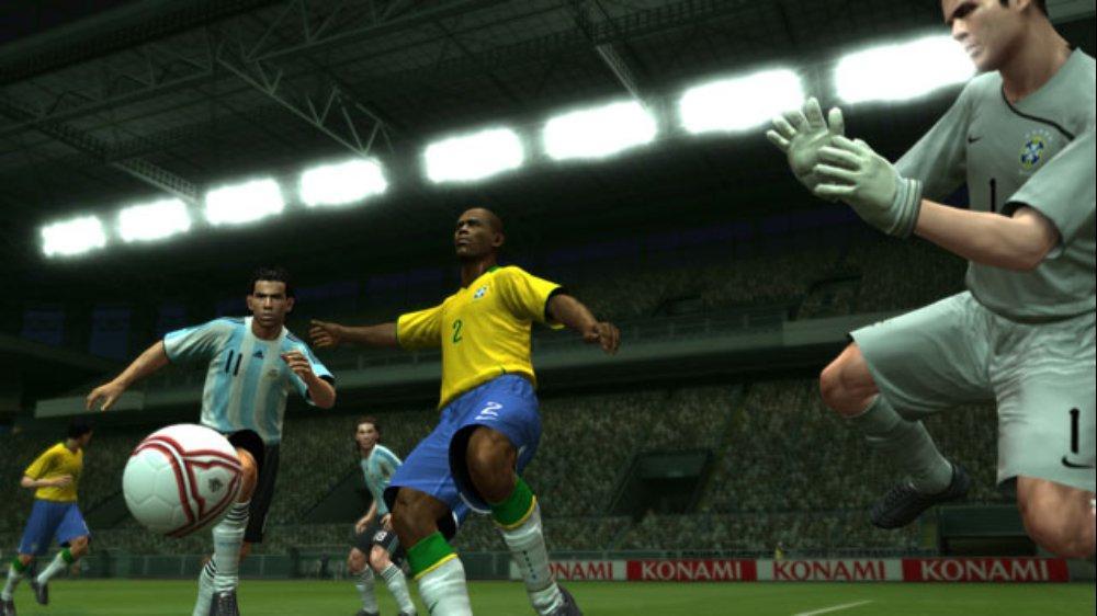 PES 2009 Screenshot Tevez