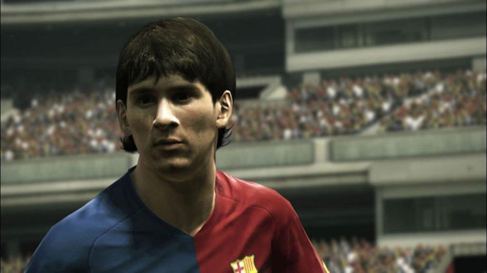 PES 2010 Screenshot Messi