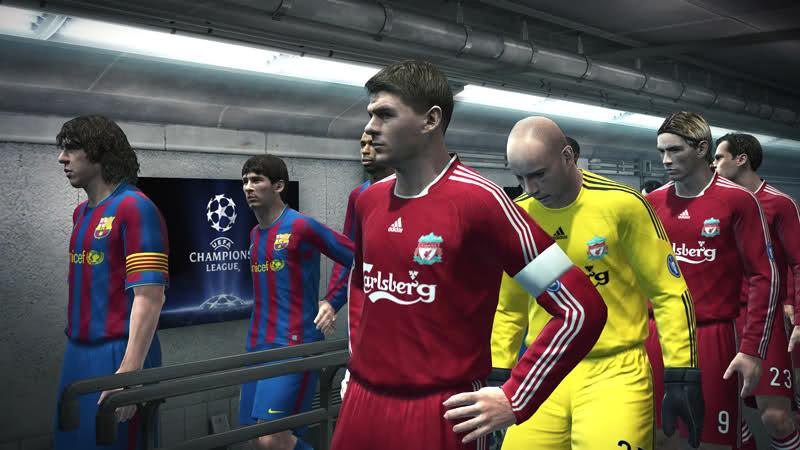 PES 2010 Screenshot Gerrard