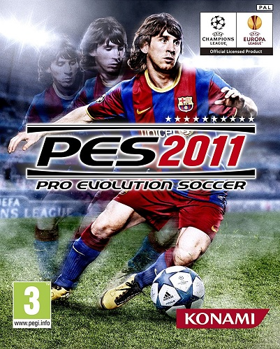 PES 2011 Cover