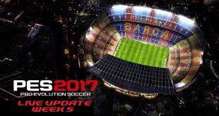 PES 2017 Live Update Week 5