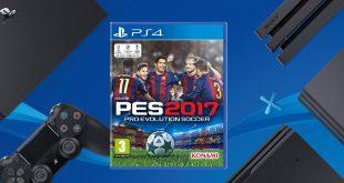 PES 2017 PS4 Pro