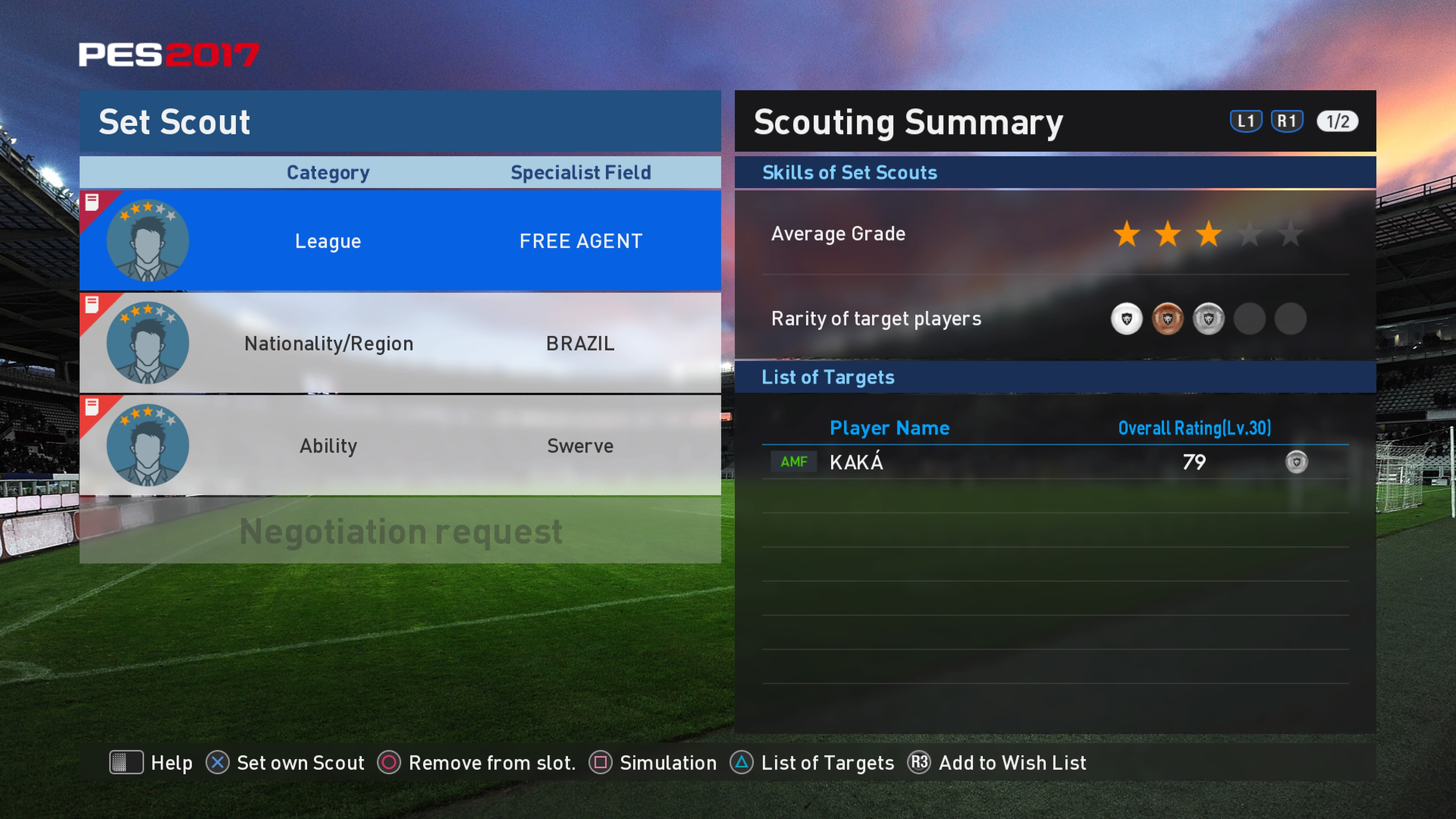 Scout Combinations myClub - Kaka