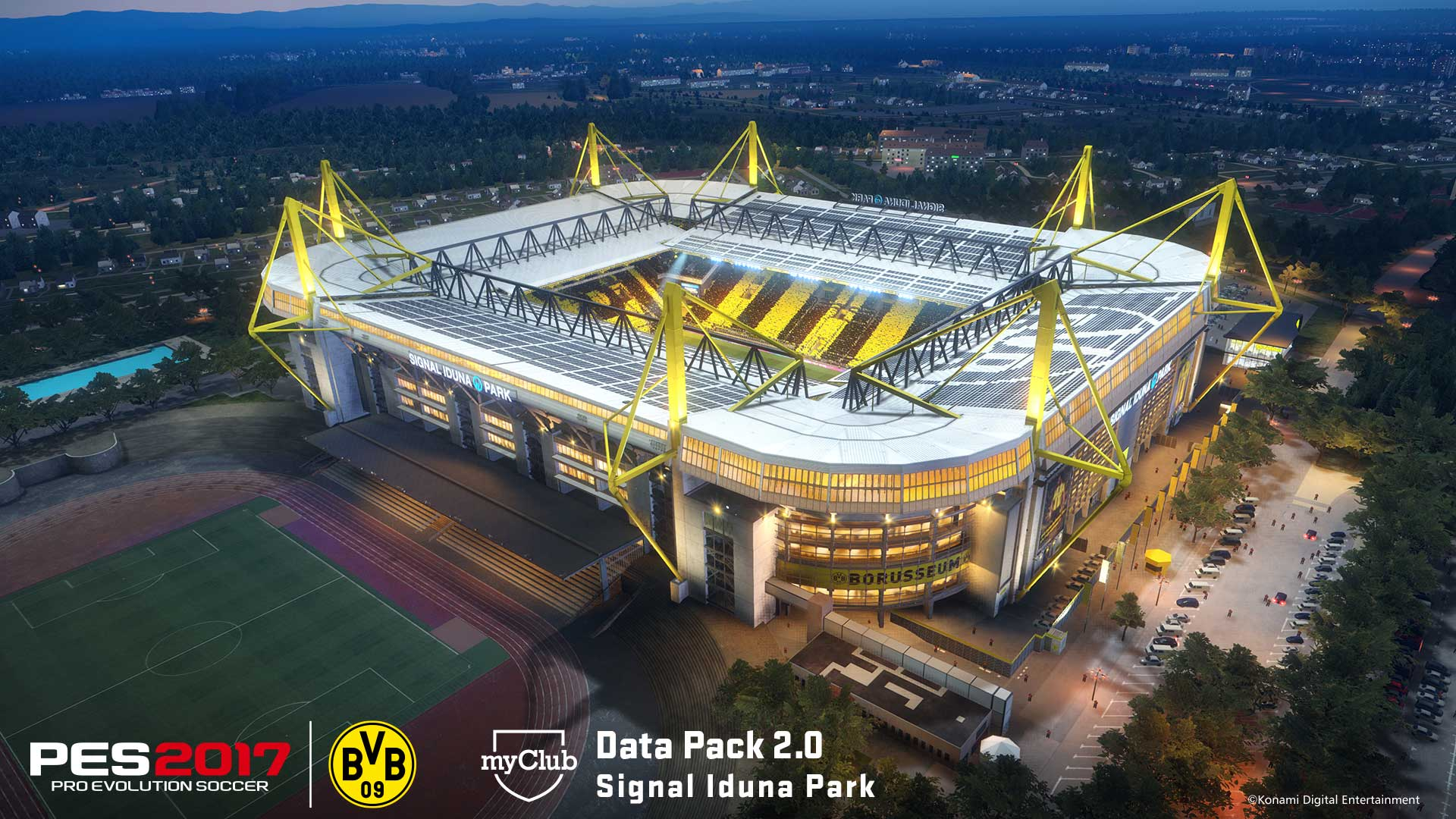 Data Pack 2.0 - Dortmund Stadium Signal Iduna Park