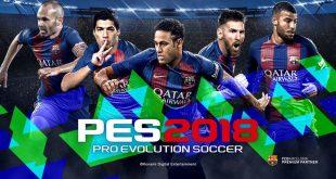 PES 2018 Announced