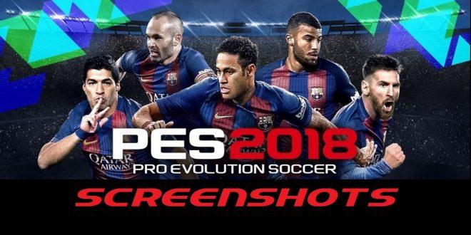 PES 2018 Screenshots