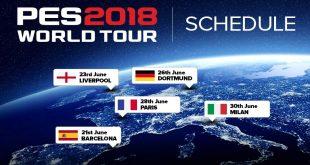 PES 2018 World Tour