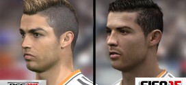 PES 15 vs FIFA 15 Face Comparison