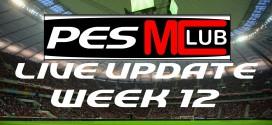 Live Update Week 12 - Cover