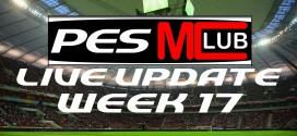 Live Update - Week 17
