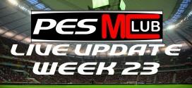 Live Update - Week 23 Cover