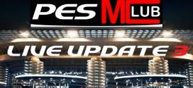 PES Live Update Week 3