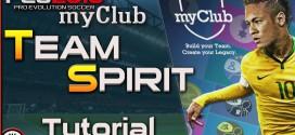 Team spirit in myClub