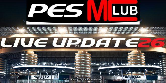 PES Live Update Week 26
