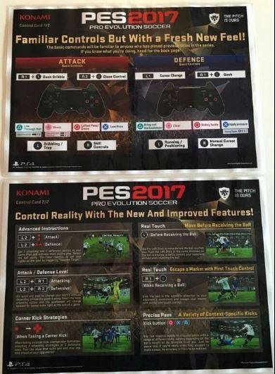 PES 2017 Controls - Leaked