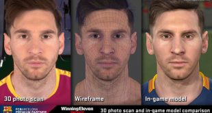 Player Faces Messi - PES 2017