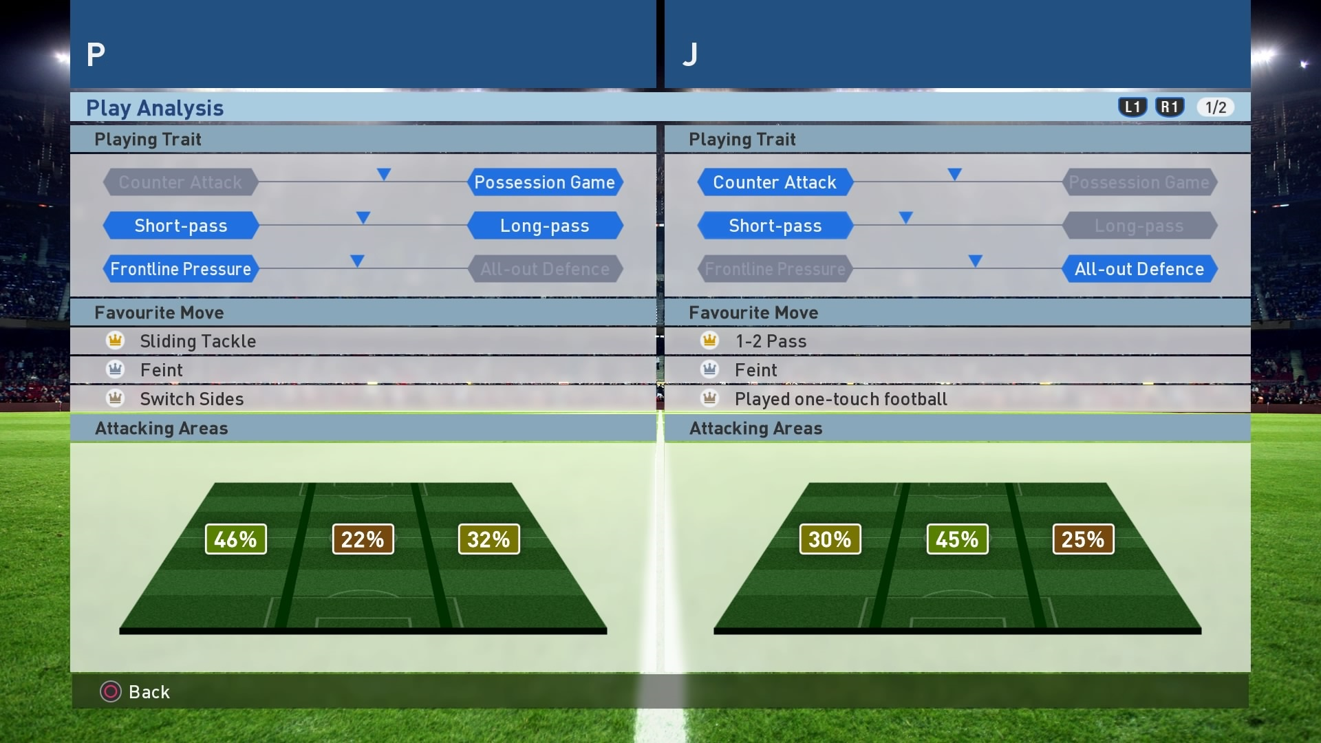 PES 2017 Versus Mode - Play Analysis