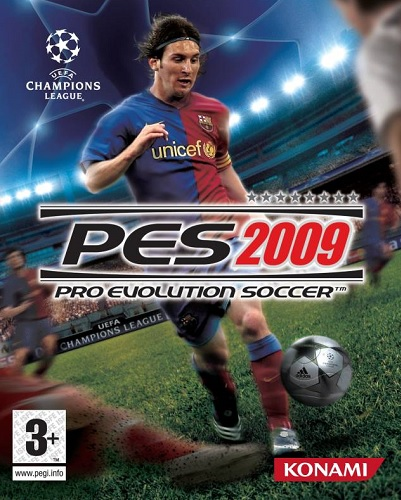 PES 2009 Cover