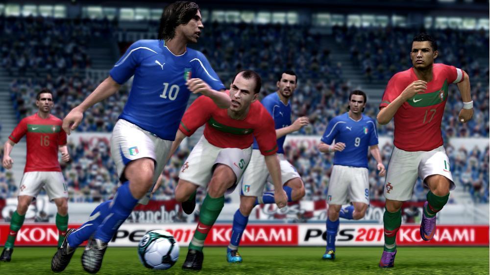 PES 2011 Screenshot Pirlo