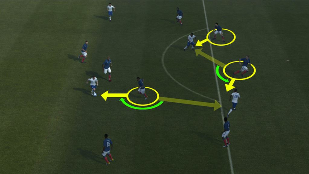 PES 2012 Screenshot Off The Ball Controls 2