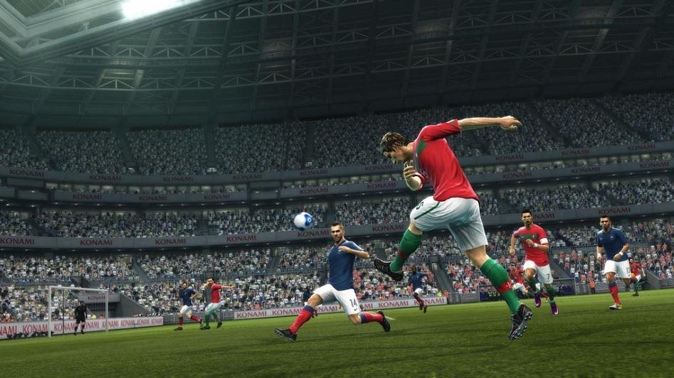 PES 2012 Screenshot Portugal France