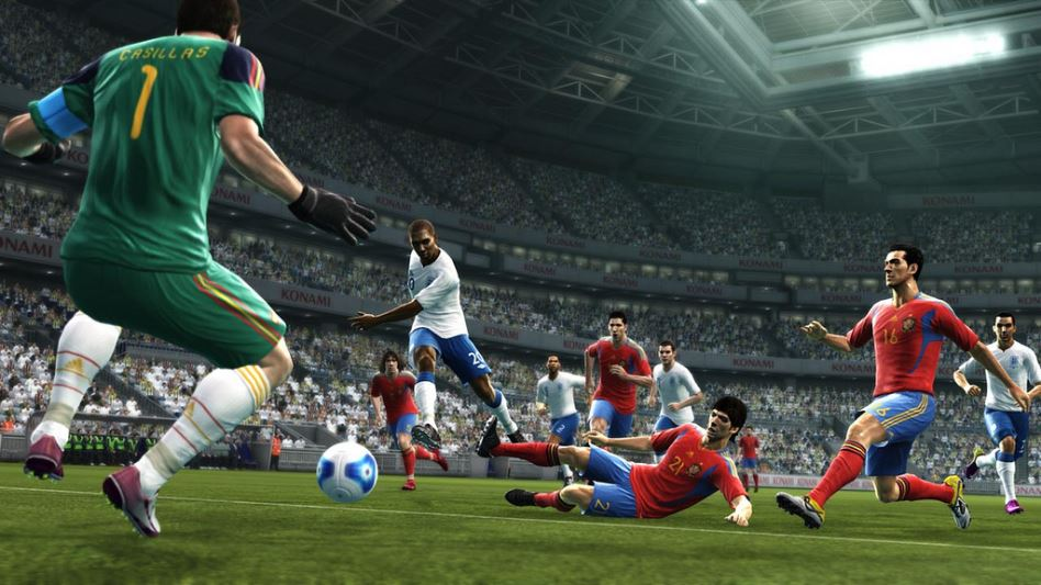 PES 2012 Screenshot Spain England