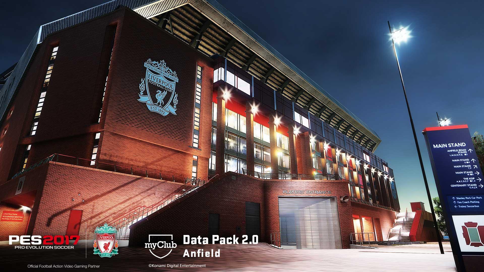 Data Pack 2.0 - Liverpool Stadium Anfield